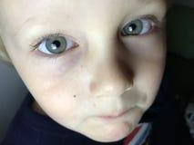 Współczujący dziecko Zdjęcie Stock