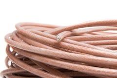 Współosiowa kablowa komunikacja przemysłowa Zdjęcia Stock