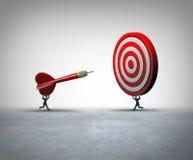 Współpracujący Biznesowy sukces ilustracja wektor