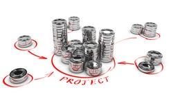 Współpracujący finanse, Crowdfunding royalty ilustracja