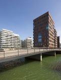 Współczesna architektura przy Aarhus, Dani Zdjęcie Royalty Free