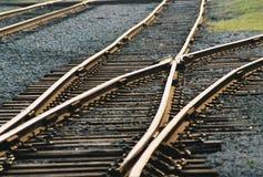 wspólnej linii kolejowej Obrazy Royalty Free