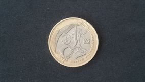 Wspólnota Narodów Północna - Ireland £2 moneta Fotografia Stock