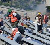 wspólnotowe badania do wykonywania katastrof Zdjęcie Stock