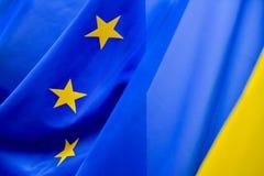 Wspólnoty Europejskiej flaga Zdjęcie Royalty Free