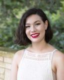 Wspaniała Amerasian młoda kobieta Zdjęcie Stock