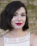 Wspaniała Amerasian młoda kobieta Obrazy Royalty Free