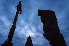 Wspaniała Brihadeeshwara świątynia budował Chola królewiątkami, Thanjavur Zdjęcie Royalty Free