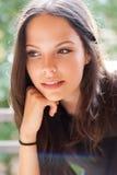 Wspaniała brunetka. Fotografia Stock