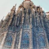 Wspaniała Chrześcijańska katedra obraz royalty free