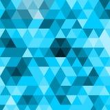Wspaniała geometryczna abstrakcjonistyczna poligonalna mozaika Trójboka niski poli- abstrakcjonistyczny tło obraz royalty free