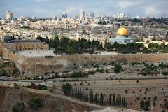wspaniała Jerusalem panorama zdjęcia stock