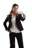 wspaniała kobieta wygląda jednostek gospodarczych Obrazy Stock