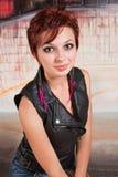 Wspaniała młoda kobieta fotografia stock