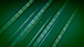 Wspaniała Retro Zielonego filmu taśma ilustracji