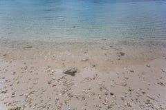Wspaniałe plaże i biali piaski, fotografia royalty free