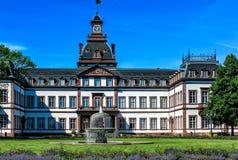 Wspaniały barokowy Phillipsruhe kasztel w Hanau, blisko Frankfurt magistrala, Niemcy - Am - zdjęcia royalty free