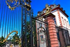 Wspaniały barokowy Phillipsruhe kasztel w Hanau, blisko Frankfurt magistrala, Niemcy - Am - zdjęcie royalty free