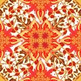 Wspaniały bezszwowy patchworku wzór od błękitnych marokańczyk płytek, ornamenty royalty ilustracja