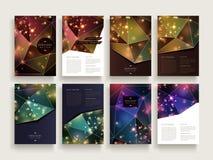 Wspaniały broszurka szablon Zdjęcie Stock