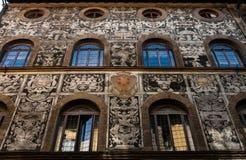 Wspaniały Florence pałac Fotografia Stock