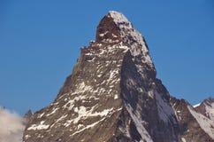 Wspaniały Matterhorn obrazy royalty free
