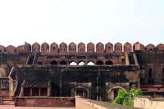 Wspaniały szczegół architektura wśrodku kompleksu Agr obrazy stock