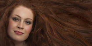 wspaniały włosy Zdjęcia Royalty Free