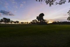 Wspaniały wschód słońca w Afryka, safari Obraz Stock
