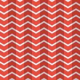 Wspaniałych bezszwowych płaskich wieloboków koloru wektoru deseniowa czerwona biała tapeta zdjęcie royalty free
