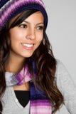 wspaniała dziewczyny zima Zdjęcie Stock