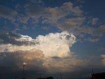 Wspaniałe chmury obrazy royalty free