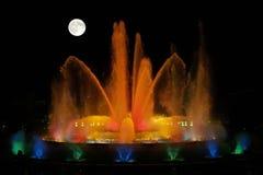 wspaniałe fontann Fotografia Royalty Free