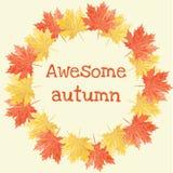 wspaniała jesieni Fotografia Stock