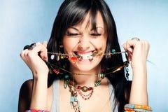 wspaniała kobieta Fotografia Stock