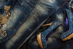 Wspaniała kobiety moda fotografia royalty free