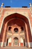 Wspania?o?? Dziejowy pomnikowy Humayun grobowiec przy New Delhi - wizerunek obrazy stock