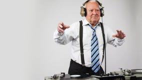 Wspaniały dziadunio DJ zbiory