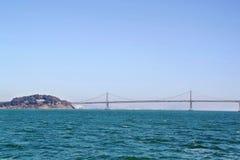 Wspaniały Golden Gate Bridge na niebieskiego nieba tle San francisco Zdjęcie Royalty Free