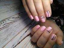 wspania?y manicure'u projekt zdjęcie royalty free