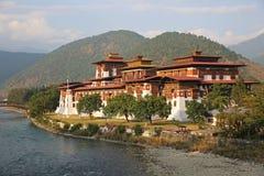 Wspaniały Punakha Dzong, Bhutan Obrazy Stock