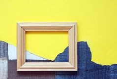 wspaniały ramowy drewniane Zdjęcie Stock