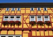 Wspaniały ryglowy dom w Niemcy Zdjęcia Stock