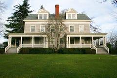 wspaniały stary dom Obrazy Royalty Free