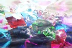 Wspaniali klejnoty Z chmurami zdjęcie stock