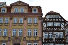 Wspaniali ryglowi domy w Niemcy Obrazy Royalty Free