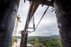 Wspinać się kawałek most Obrazy Royalty Free
