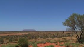 Wspina się Conner, australijski odludzie, Alice Springs, Australia zdjęcie wideo