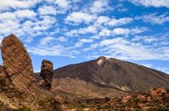 Wspina się Teide w Santa Cruz de Tenerife, Hiszpania obraz royalty free