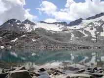 wspinaczki jezioro Fotografia Royalty Free